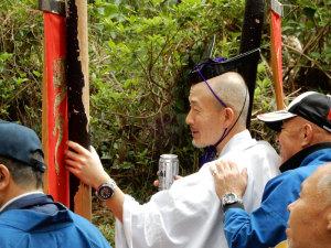 上阿田木神社祭り